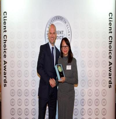 WINNER OF CLIENT CHOICE AWARD IN GENERAL CORPORATE CATEGORY, 2018