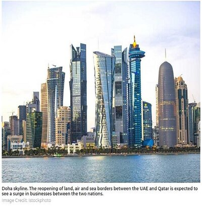 UAE-Qatar ties: Reopening of borders to benefit UAE and GCC economies